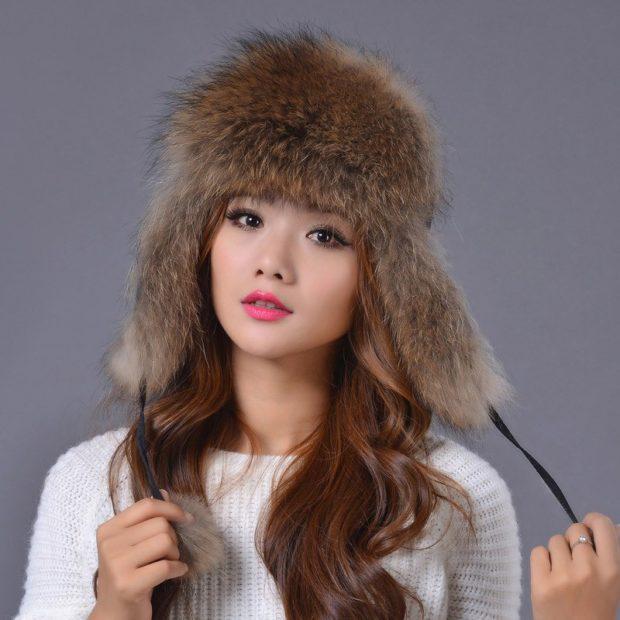 модные головные уборы 2019-2020: шапка ушанка из меха