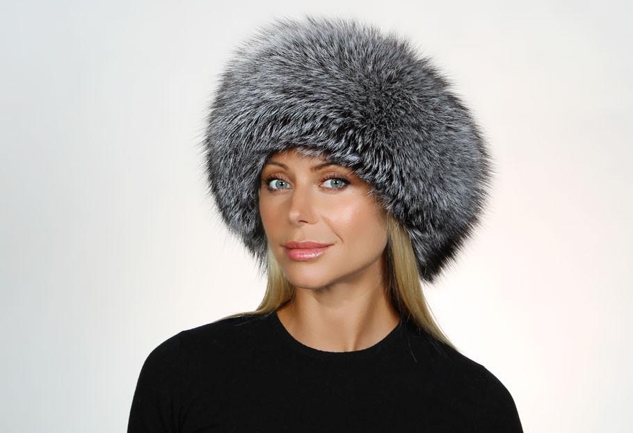 модные меховые шапки: боярка серая