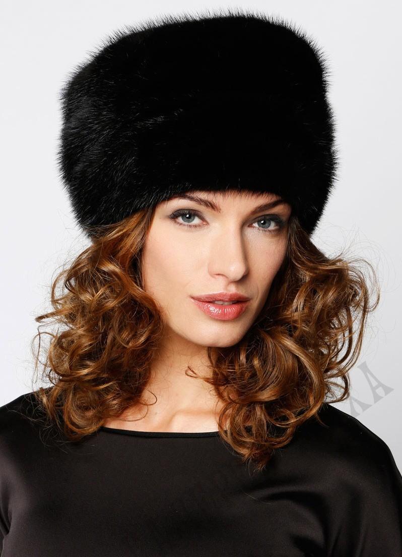 модные меховые шапки: шапка кубанка черная