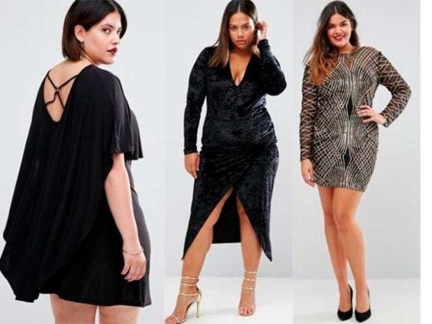 модные платья 2018 для полных: вечерние платья короткие вырез на спине спереди серебристое