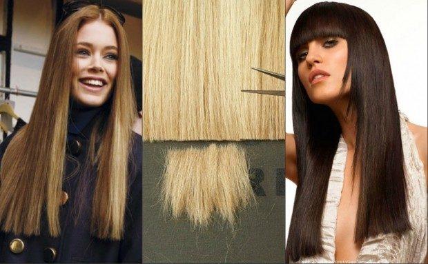 модные стрижки на длинные волосы 2019-2020: прямые длинные волосы