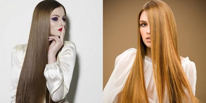 Прически на длинные волосы прямые волосы с челкой фото