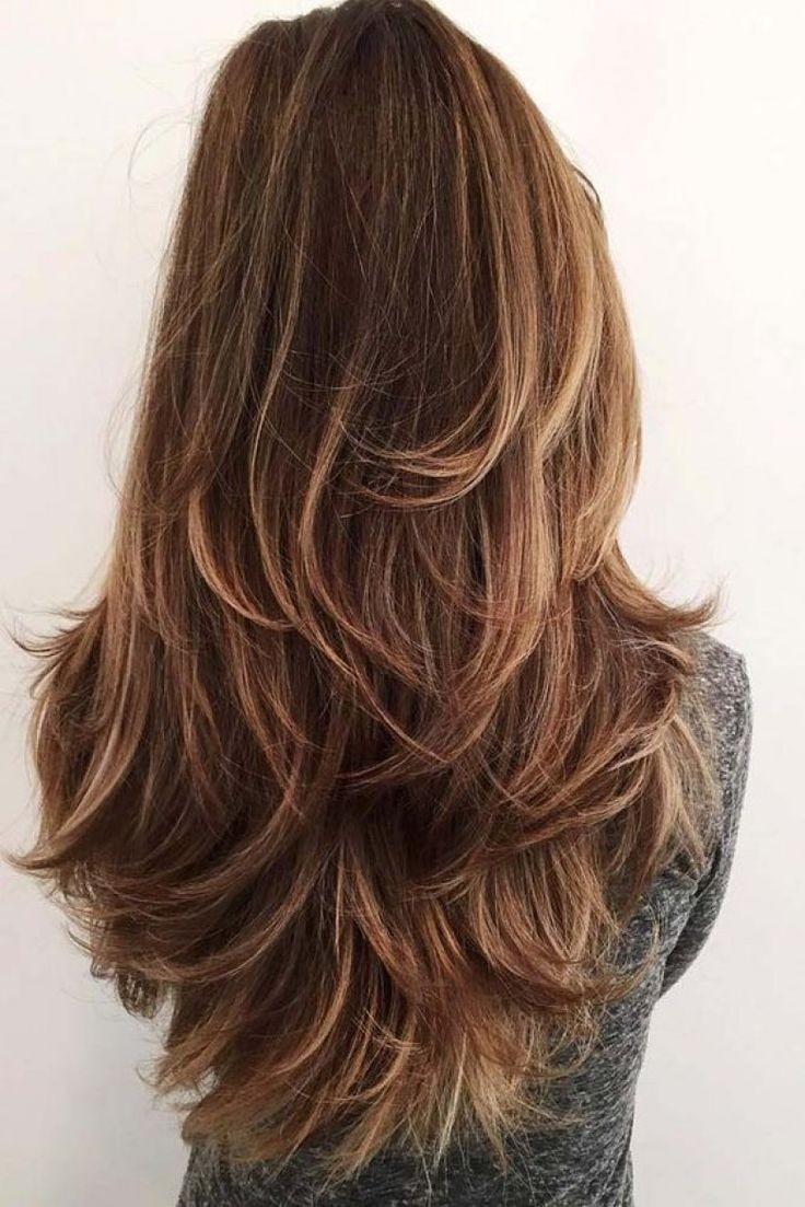 модные стрижки на длинные волосы 2019-2020: каскад простой