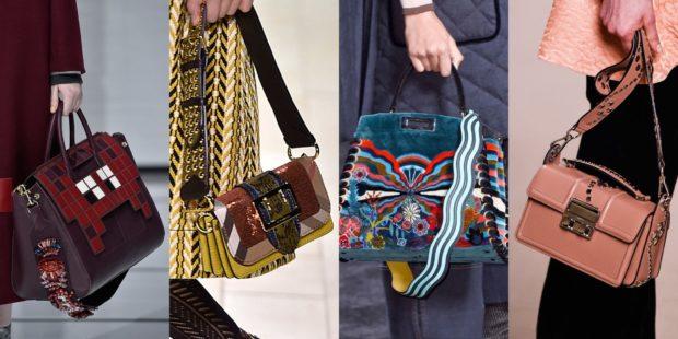 модные женские сумки 2018: сумки ручные с аппликациями