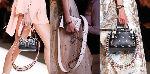 модные женские сумки 2018: маленькие сумочки с декором