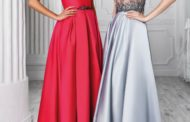 Модные вечерние платья 2018 года