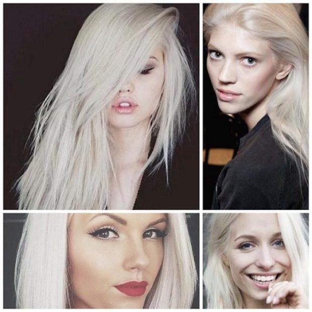 модное окрашивание волос 2018: холодный блонд под натуральный