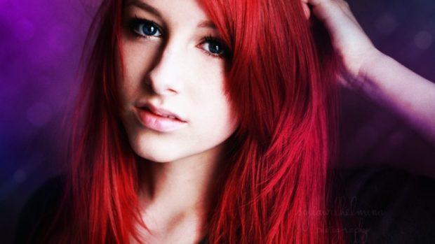 модные окрашивания волос 2019-2020: красные волосы