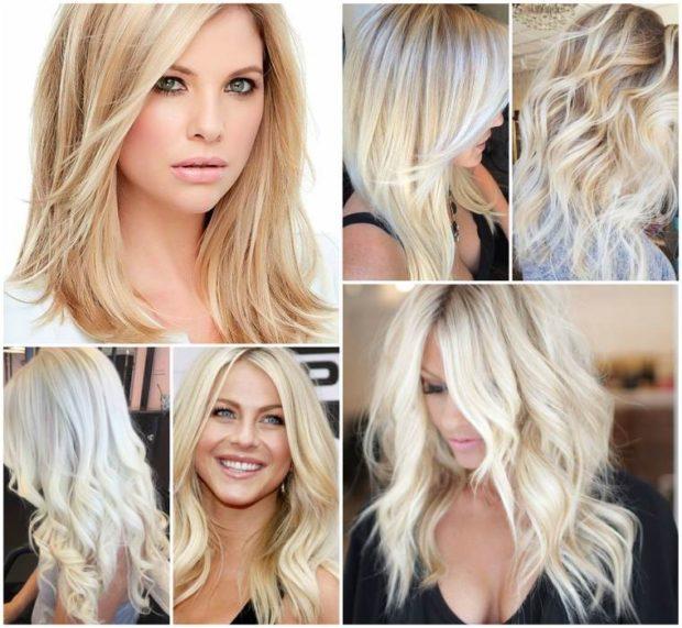 модное окрашивание волос 2019-2020: модное окрашивание блондинок