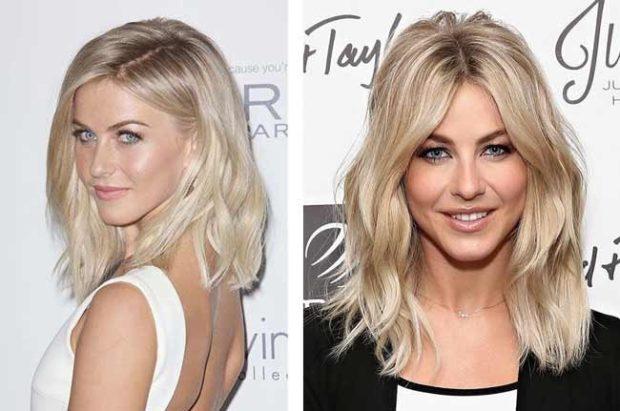 модное окрашивание волос 2019-2020: волосы белые под натуральное