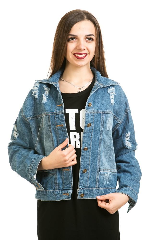 Модные женские куртки 2019-2020 года: куртка джинсовая короткая с бахромой