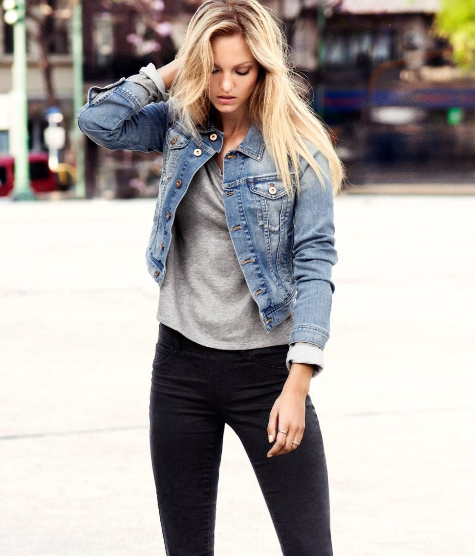 Модные женские куртки 2019-2020 года: куртка джинсовая короткая