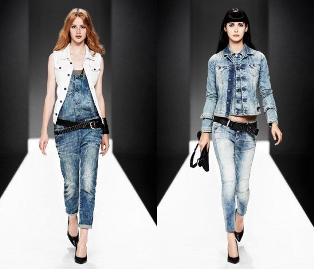Модные женские куртки 2019-2020 года: куртка джинсовая джинсовый костюм