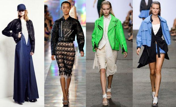 Модные женские куртки 2019-2020 года: куртки черная зеленая синяя