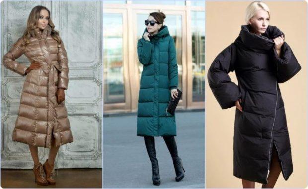 модные женские куртки 2019-2020: куртка длинная коричневая зеленая черная