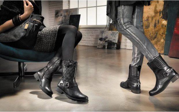 модные сапоги осень зима 2019-2020: сапожки короткие тяжелые с декором