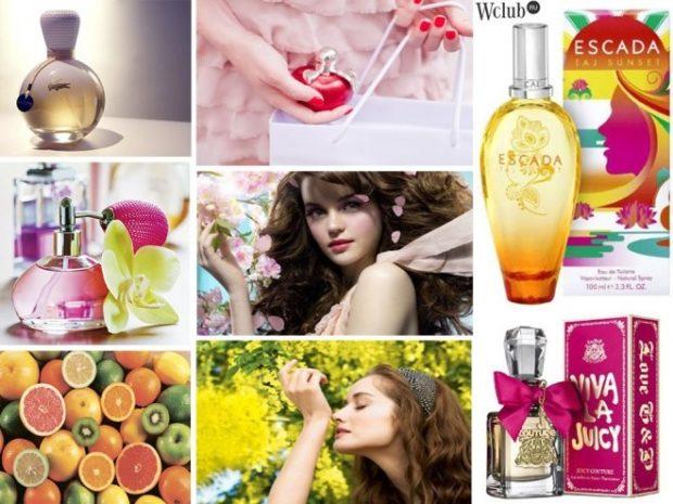 модные ароматы весна 2018: ароматы фруктовые