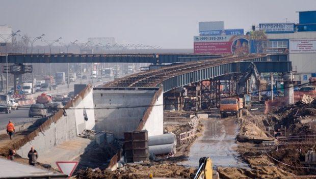 Реконструкция МКАД в 2018 году