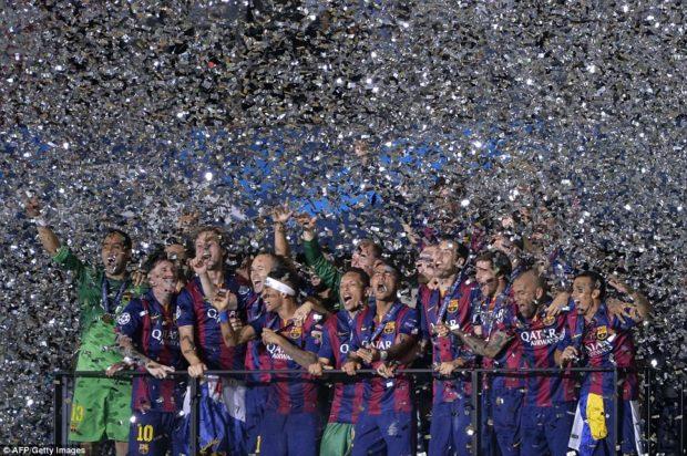 игроки защиты ФК Барселона