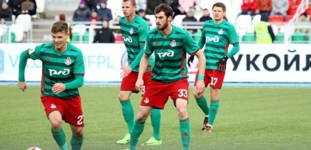 футбольная команда Локомотив