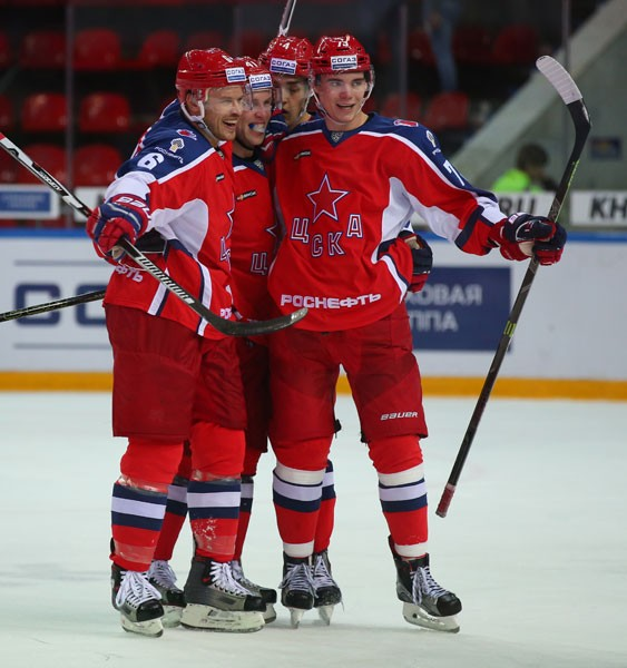 защитная линия ЦСКА