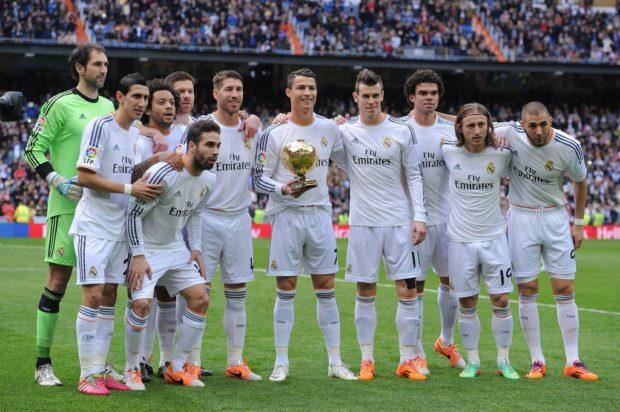 состав команды Реал Мадрид