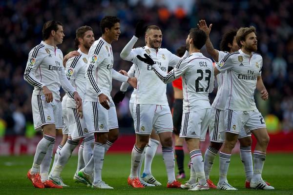Реал Мадрид состав