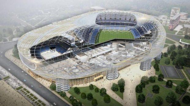 Стадион Динамо в 2018 году