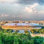 Стадион Лужники, красивый вид