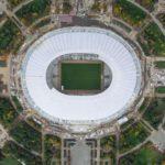 Стадион Лужники, вид сверху
