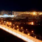 Стадион Нижний Новгород - вечер