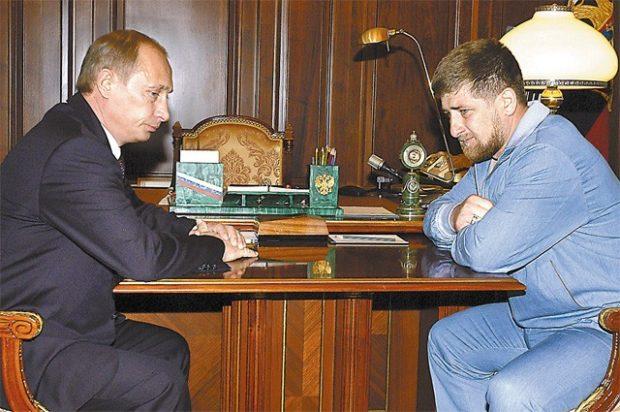 Рамзан Кадыров и Путин2018