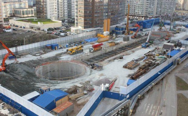 Станция метро «Беговая» 2018