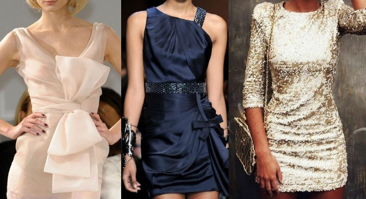 Платье к новому своими руками