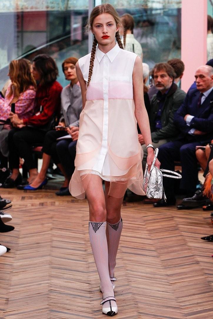 Смотри! Весенняя коллекция женской одежды Prada 2018 года: фото