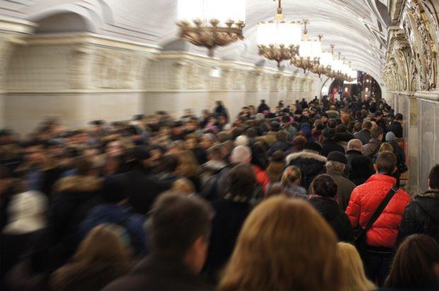 Распознавания лиц в метро в 2018 году