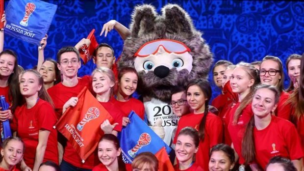 волонтеры на футбольный чемпионат