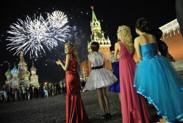 Выпускной бал в Кремле 2018