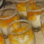 Десерт: «Новогоднее сияние»