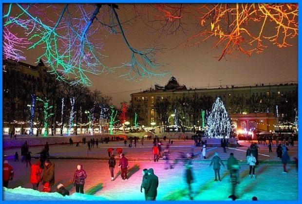 катки в Москве 2017-2018