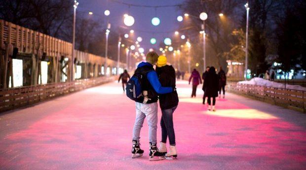 бесплатные катки Москвы