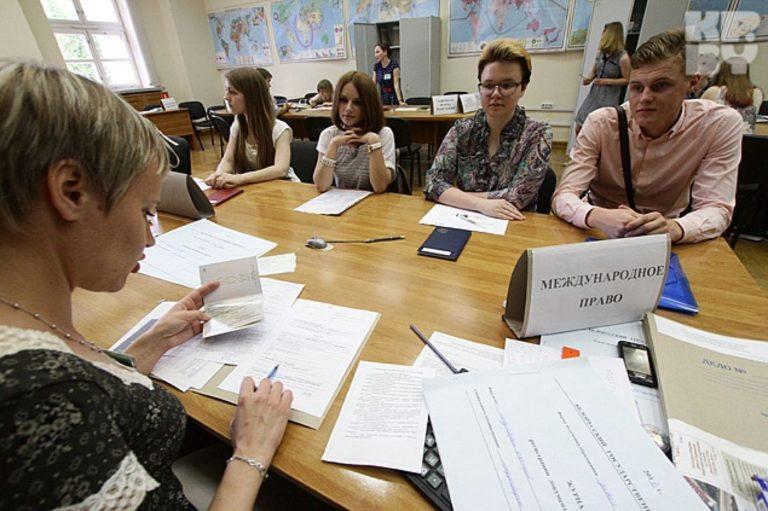 Когда подают документы в вуз в 2018 году в украине