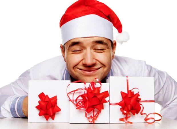 Корпоративные подарки на Новый год 2018
