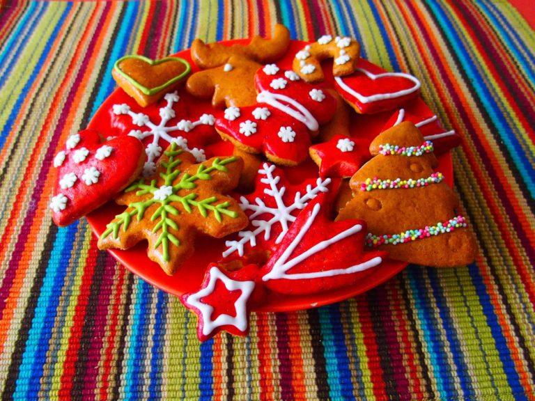 Имбирное печенье подарок