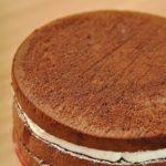 Новогодний торт «Шварцвальдский вишневый лес»