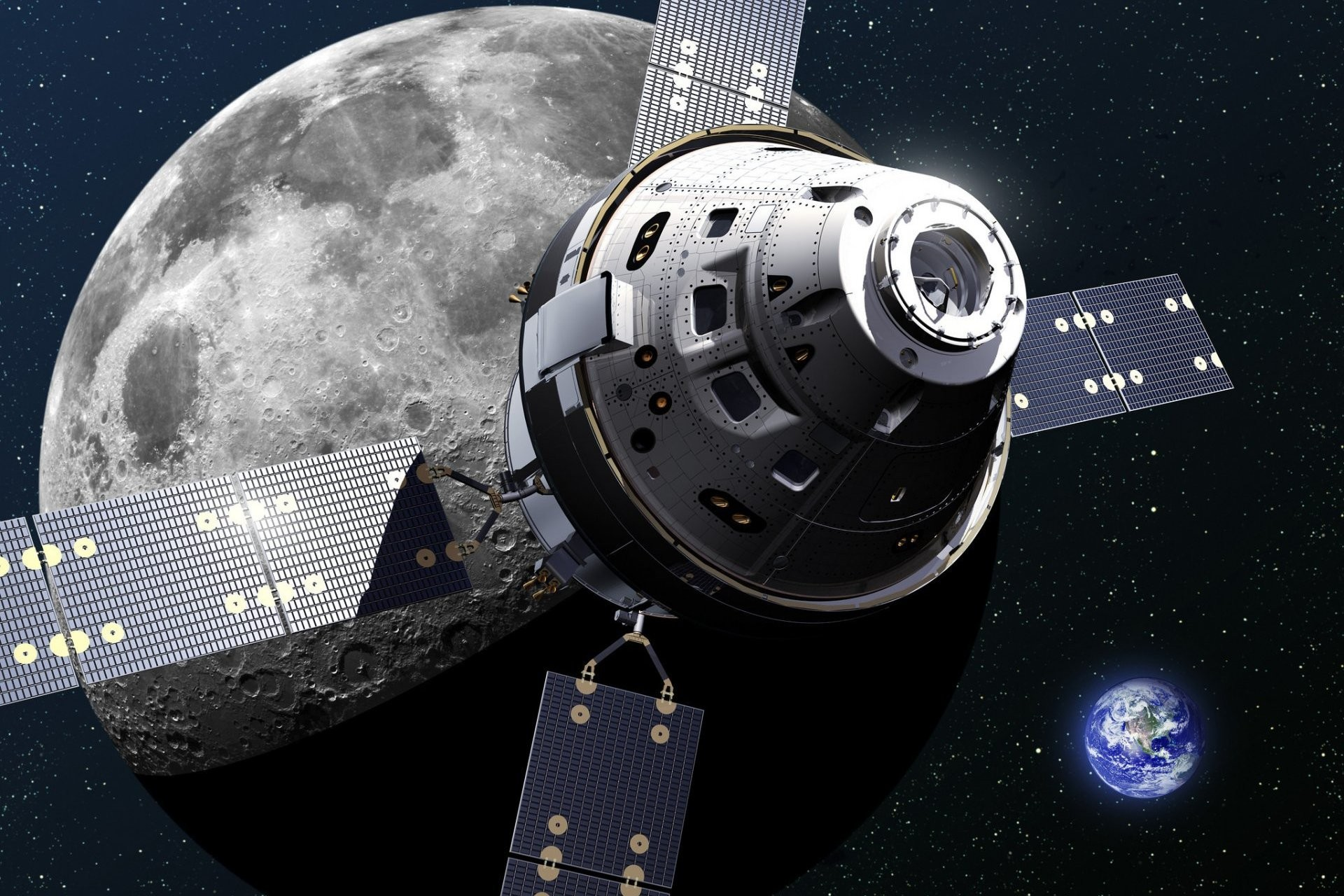 Смотри! Облет Луны NASA в 2019 году: разведывательный и пилотируемый космический полет