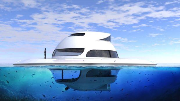 Плавающий дом UFO 2018
