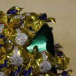 Конфетный ананас для подарка детям