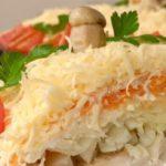 Слоеный салат «Русская красавица»