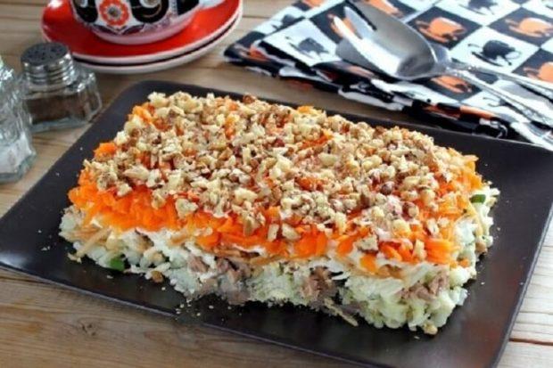Слоеный салат «Любимый»